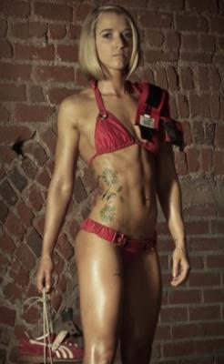 Bikini Competitor And Powerlifter Amber Hayes Talks To M Amp S