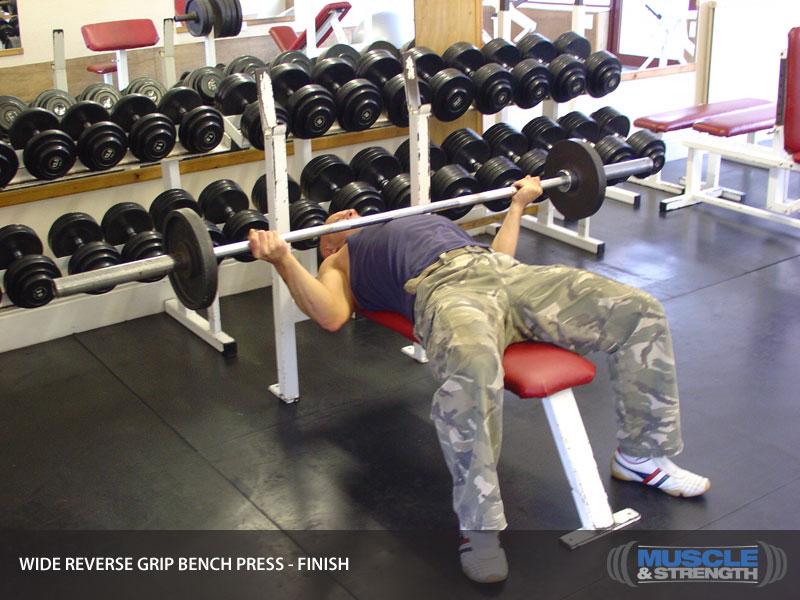 Reverse Grip Bench Press vs Incline Bench Press Reverse Grip Bench Press