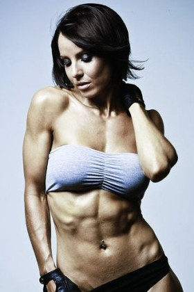 Figure competitor and model Kelly Rennie
