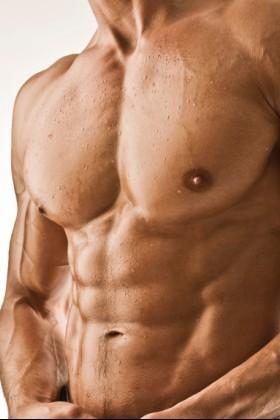 Incrível a construção muscular genética
