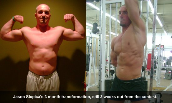 Jason Slepica Transformation