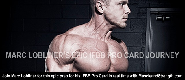 Marc Lobliner's epic IFBB pro card journey