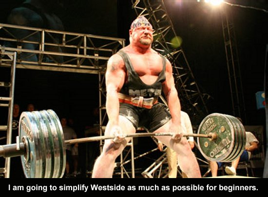 Westside Barbell Powerlifting Training Made Easy Muscle