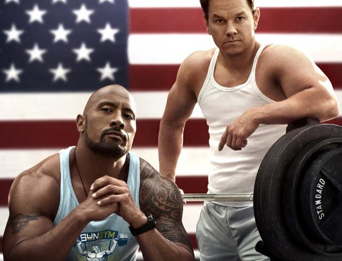 Mark Wahlberg and Dwayne Johnson