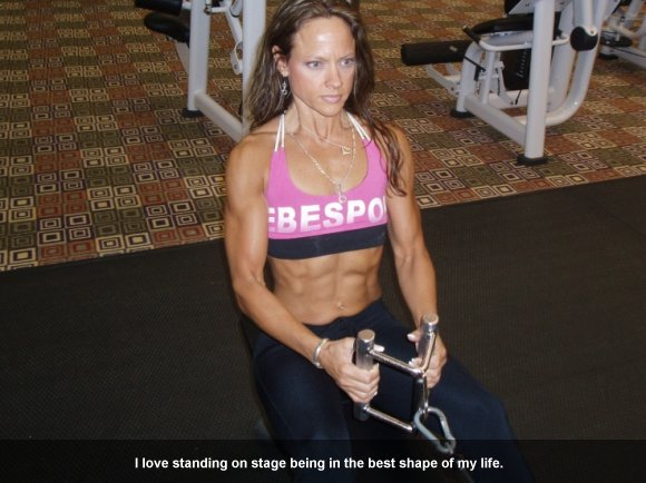 Marla Battles Female Bodybuilder