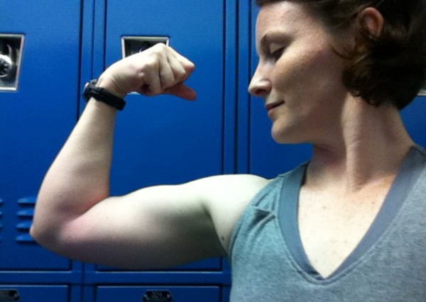 how to lose bicep fat