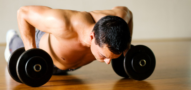 Burning fat and building muscle can be done with a little hard work.