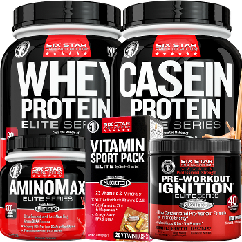 Six Star Pro Nutrition Elite Series Stack