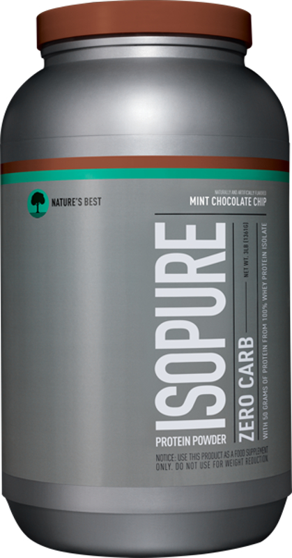 Image of Nature's Best Isopure Zero Carb Protein - 3lbs Mint Chocolate Chip