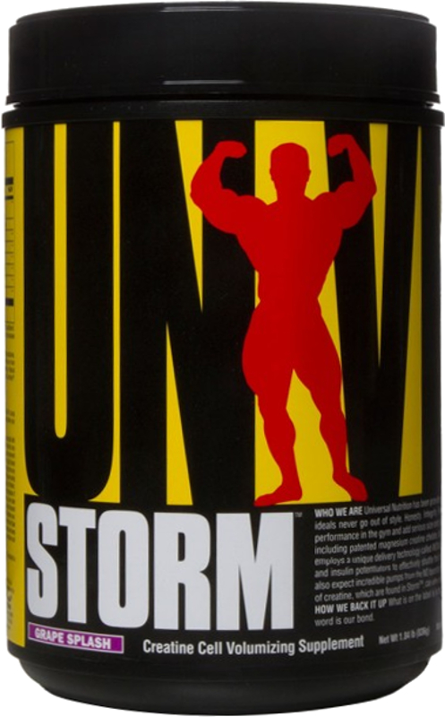 Universal Nutrition Storm - 80 Servings Grape Splash