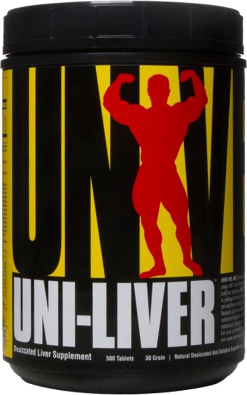 Universal Nutrition Uni-Liver - 500 Tablets