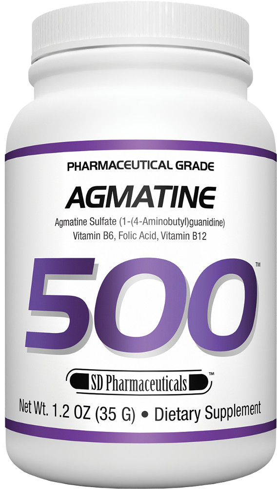 SD Pharmaceuticals Agmatine 500 – 35g Unflavored