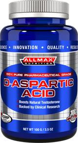Image for AllMax Nutrition - D-Aspartic Acid