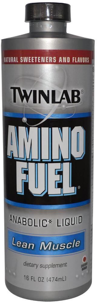 Twinlab Amino Fuel Liquid - 16oz Cherry Bomb