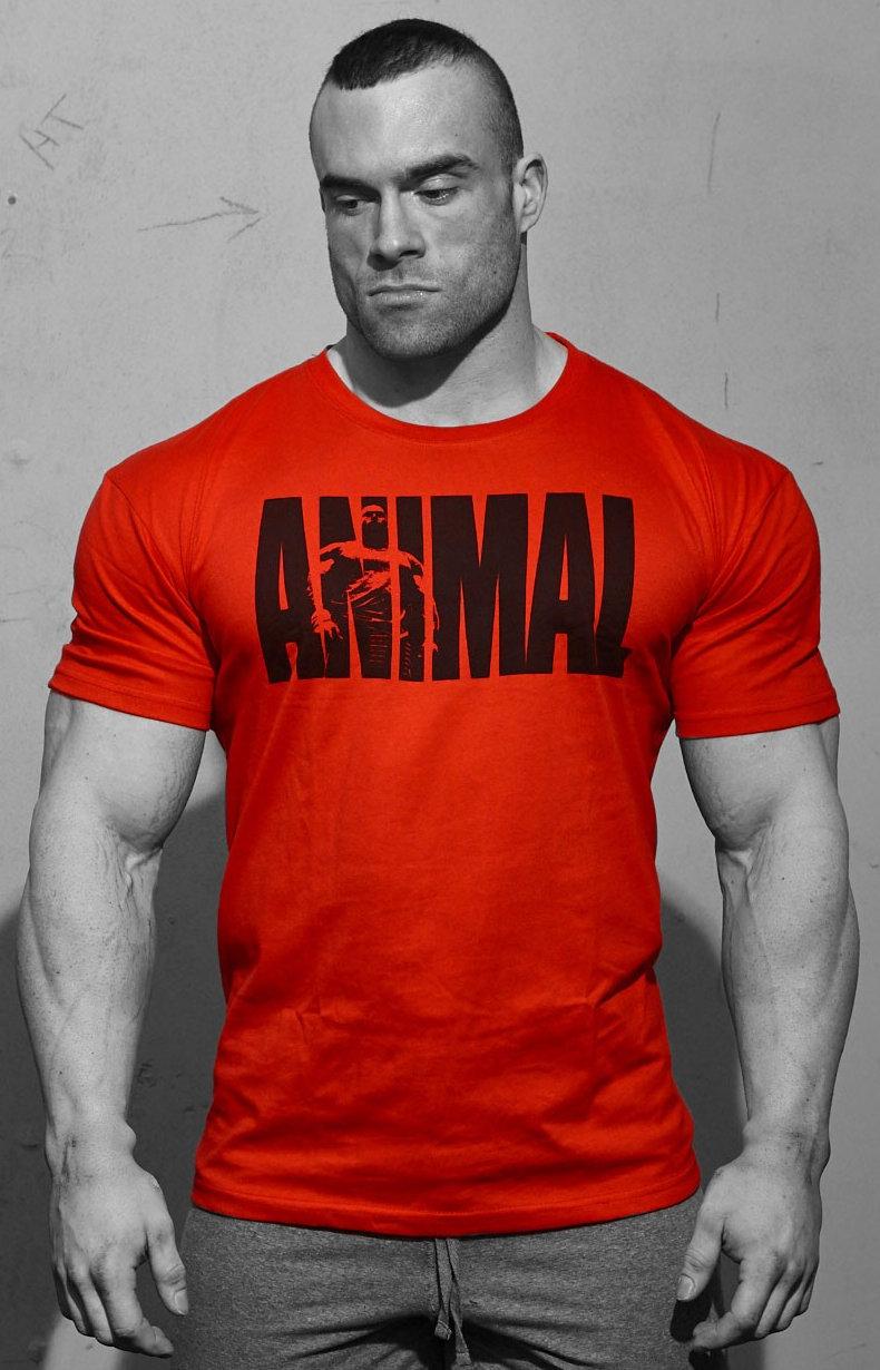 Universal Clothing & Gear Animal Iconic T-Shirt - Red Medium UN0047