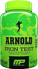 Image for Arnold Schwarzenegger Series - Iron Test