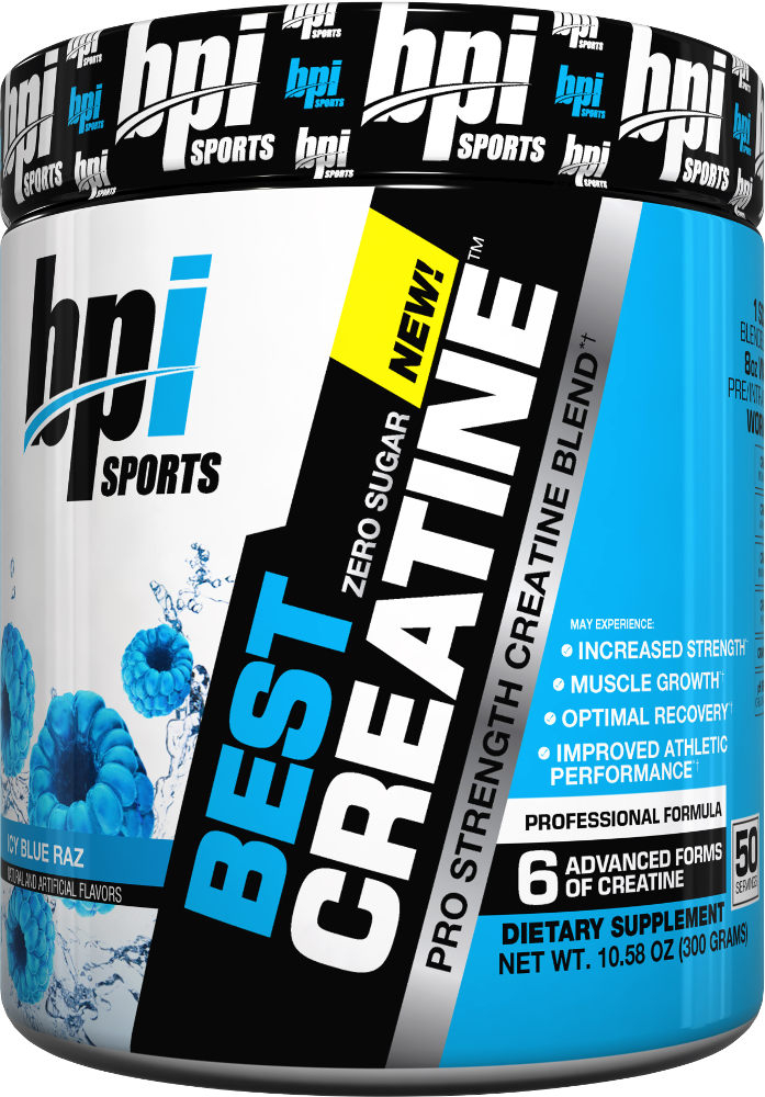 BPI Sports Best Creatine – 100 Servings Snow Cone