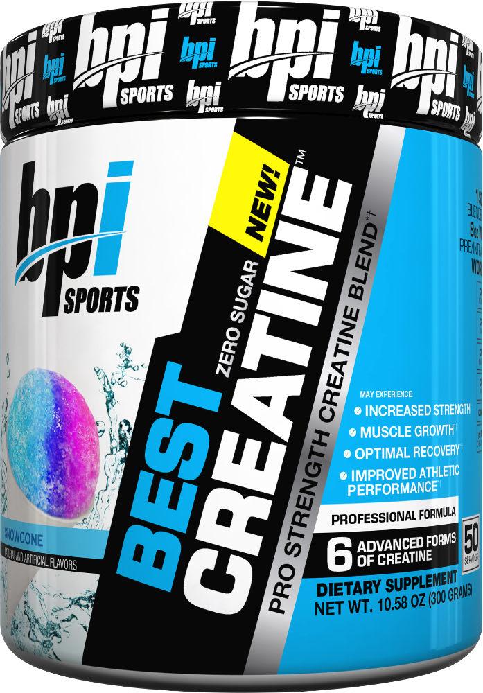 BPI Sports Best Creatine - 50 Servings Snow Cone BP0160
