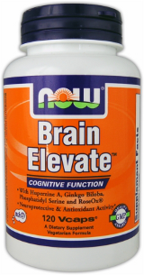 NOW Foods Brain Elevate - 60 Vcaps