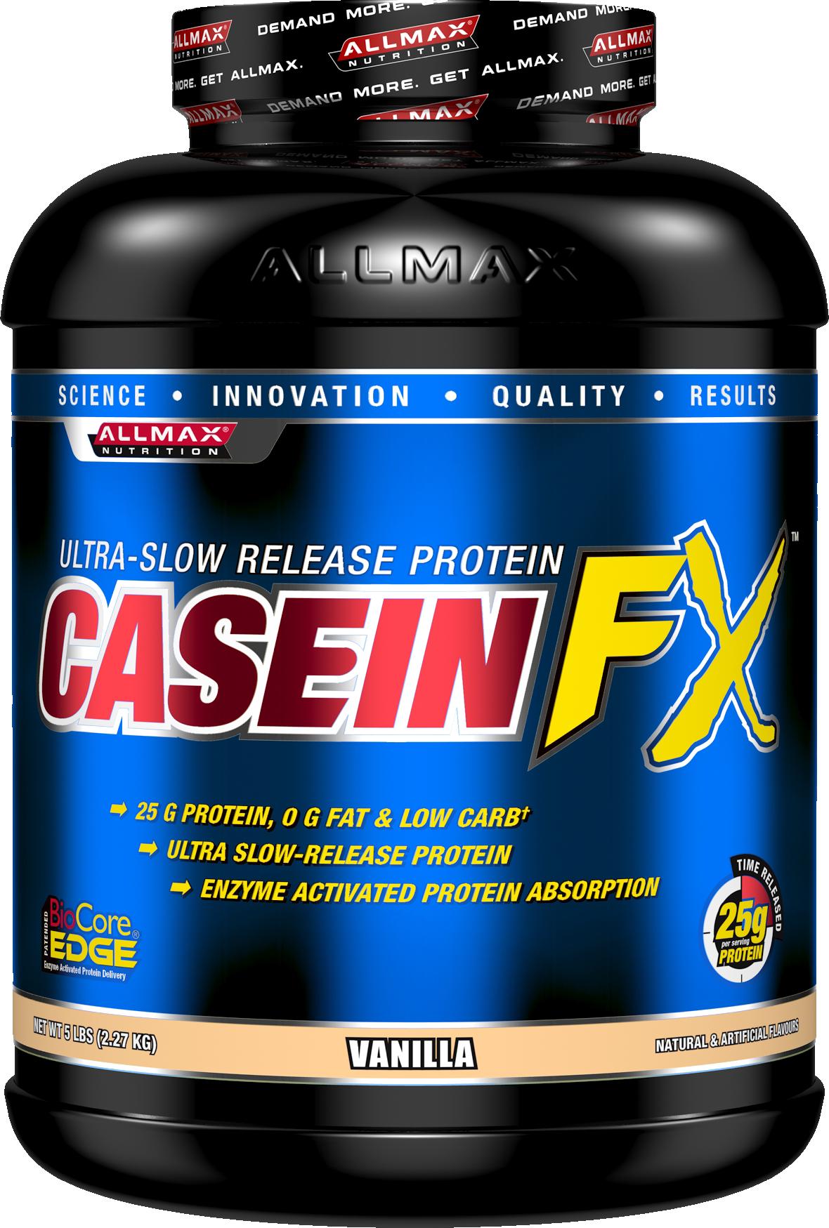 Image of AllMax Nutrition Casein-FX - 5lbs Vanilla