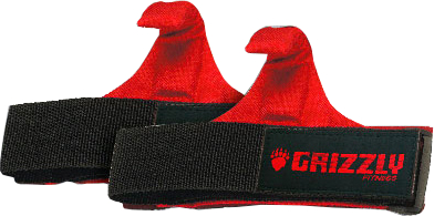 Image of Grizzly Fitness Power Claw Lifting Hooks - 1 Pair