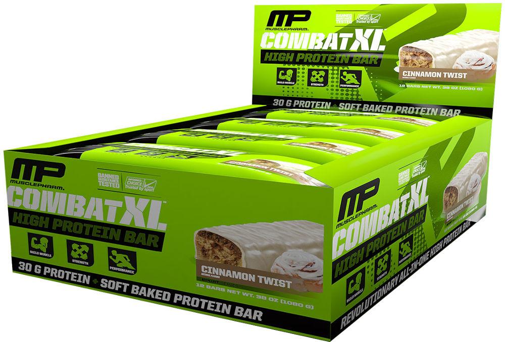 MusclePharm Combat XL Bars - 1 Bar Peanut Butter Cup MPH0271