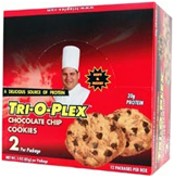 Image of Chef Jay's Tri-O-Plex Cookies - Box of 12 Oatmeal Rasin
