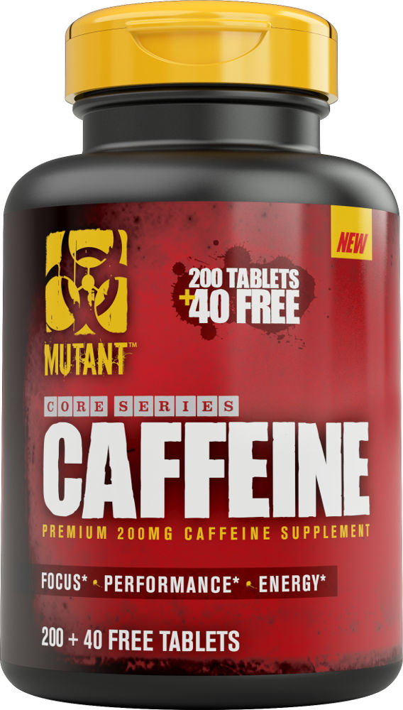 Mutant Core Series Caffeine - 240 Tablets
