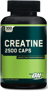 Optimum Nutrition Creatine 2500 Caps - 200 Capsules