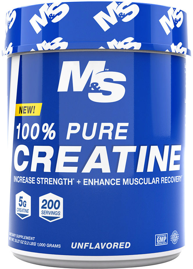msn 100 pure creatine