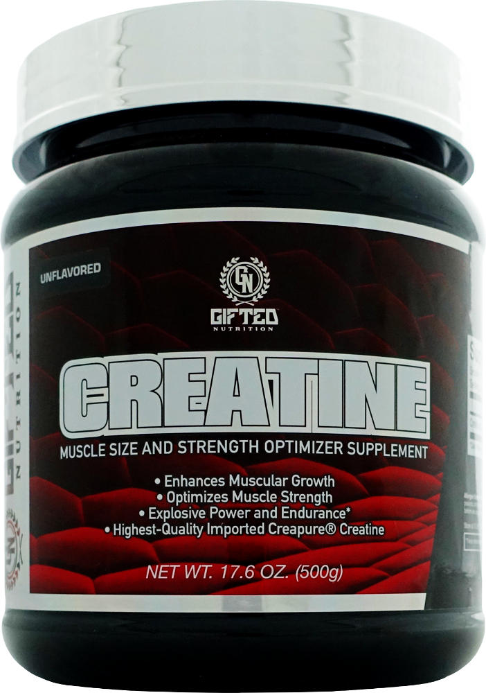 Gifted Nutrition Creatine – 300g Unflavored