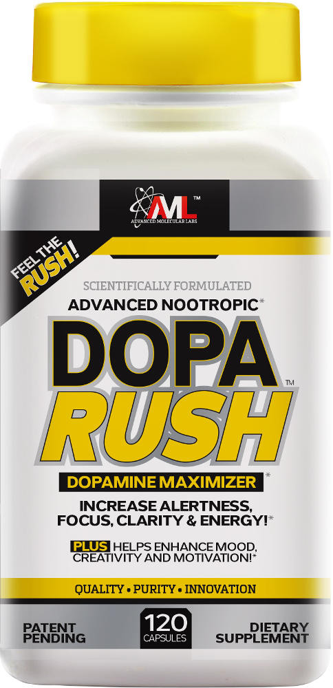 CNS fatigue demands a solution that could only be solved by the team at Advanced Molecular Labs with their newest breakthrough supplement- Dopa Rush™!*
