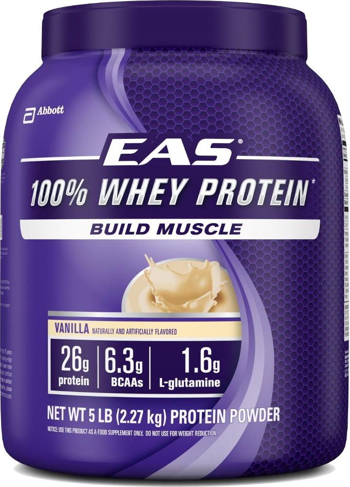 EAS 100% Whey Protein - 5lbs Vanilla