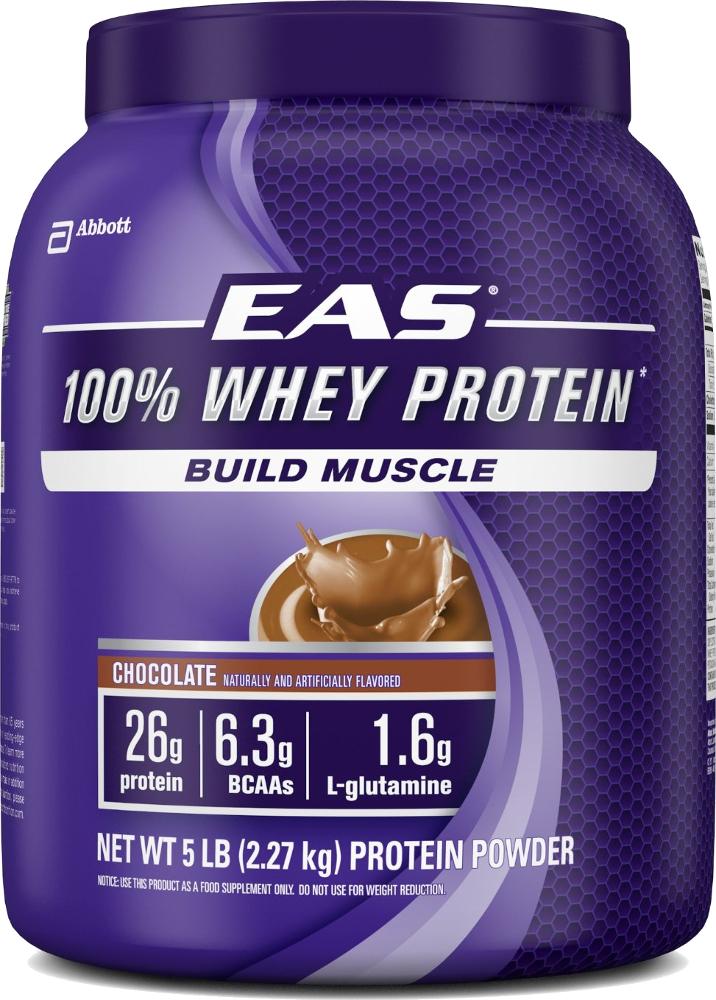 EAS 100% Whey Protein - 5lbs Chocolate
