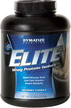 Dymatize Elite Whey Protein   10lbs Rich Chocolate