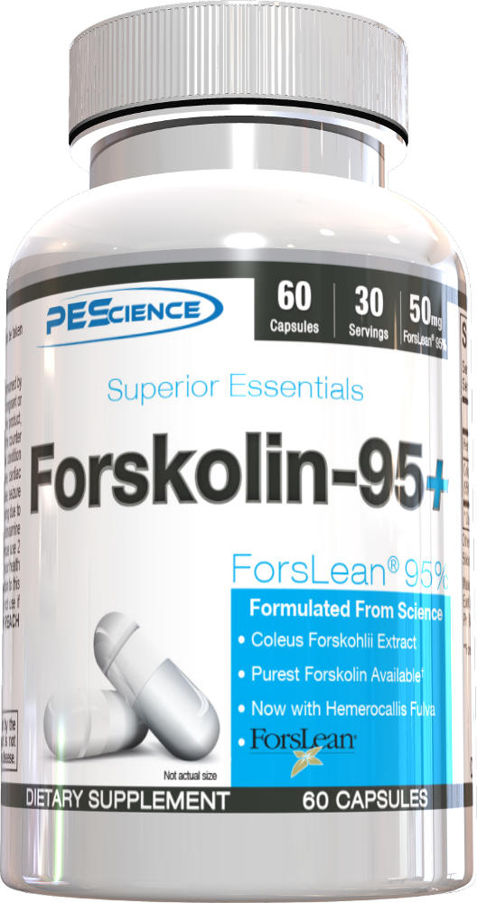 PEScience Forskolin-95+ - 60 Capsules