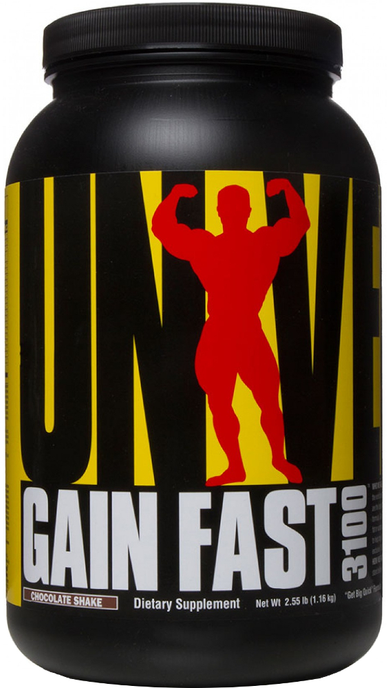 Universal Nutrition Gain Fast 3100 - 5.1lbs Chocolate Shake