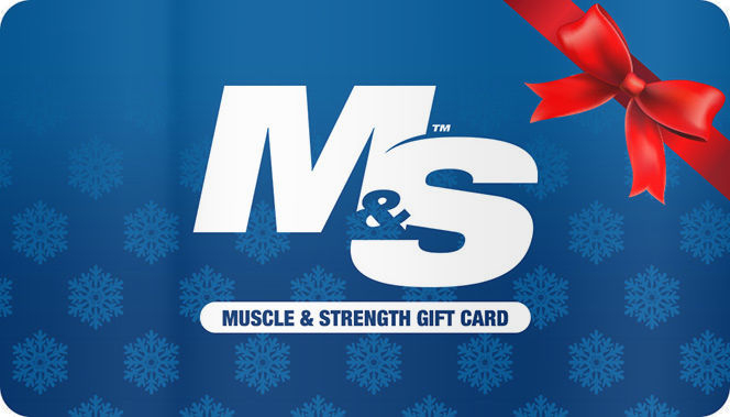 Image of Muscle & Strength Accessories Gift Card - $50 Gift Card