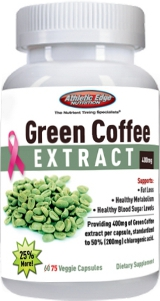 Image for Athletic Edge Nutrition - Green Coffee Extract