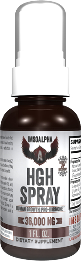Image for ImSoAlpha - HGH Spray