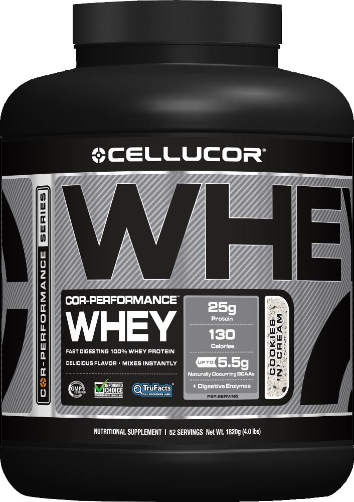 Cellucor COR-Performance Whey - 4lbs Cookies N' Cream Legacy