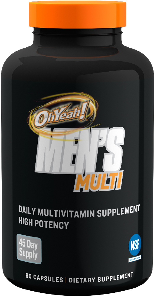 Image for ISS Research - Oh Yeah! Men's Multi