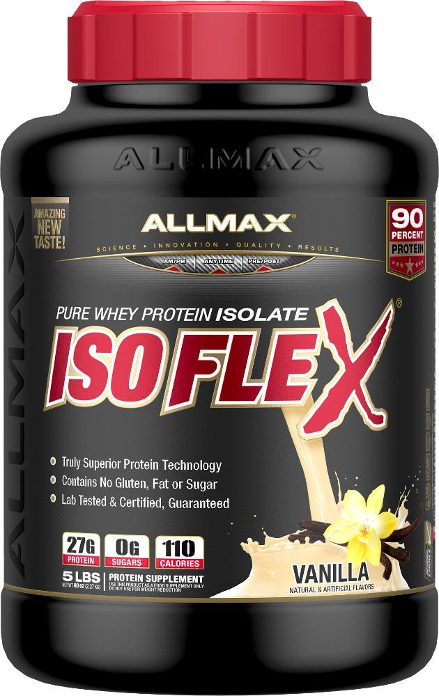 Allmax Nutrition IsoFlex - 5lbs Vanilla