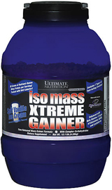 Ultimate Nutrition IsoMass Xtreme Gainer   10.11lbs Strawberry Milksha