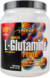 Image for ISS Research - Complete Glutamine Powder