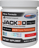 USPlabs Jack3d Micro - 40 Servings Fruit Punch