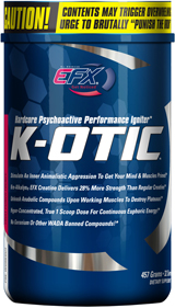 All American EFX K-OTIC - 32 Servings Grape