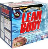 Labrada Lean Body Meal Replacement   42 Packets Chocolate Ice