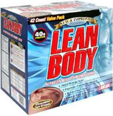 Labrada Lean Body Meal Replacement   42 Packets Vanilla Ice
