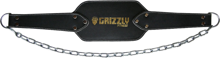 Image of Grizzly Fitness Leather Dipping Belt - 1 Belt